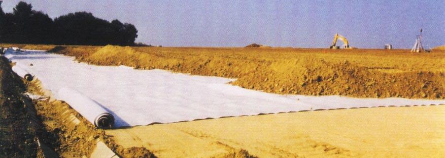 Şekil-4 Yol Dolgusu Altında MacDrain® Geokompozit Uygulaması