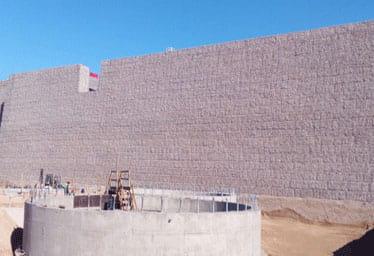 Çöpler Altın Madeni İstinat Duvarları Projesi