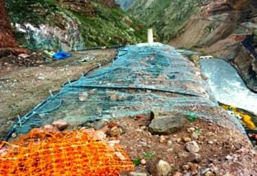 Çelik Grid Sistem ile Örtüleme Ardahan Barajı