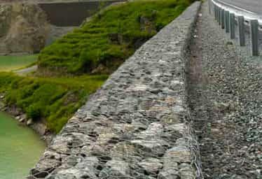 Artvin Barajı Terramesh Sistem İstinat Duvarı