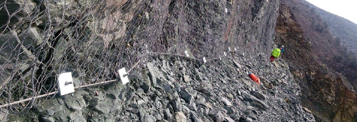 Kastamonu Obrucak Baraj Projesi Çelik Grid ile Yüzeysel Koruma