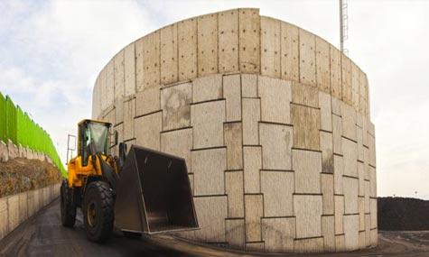 Macres İstinat Duvar Har Madencilik Kömür Depo Sahası