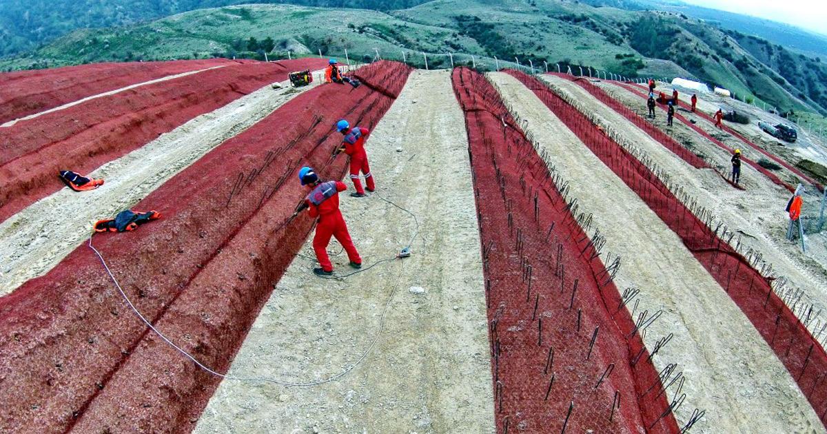 Savcıllı GES Projesine Erozyon Kontrol