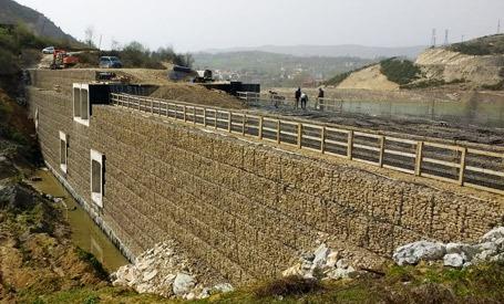Kozcağız Barajı Terramesh Sistem ile Sedde İmalatı